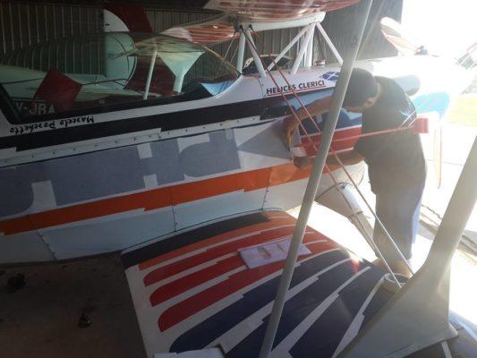 Ploteo en Aeronave
